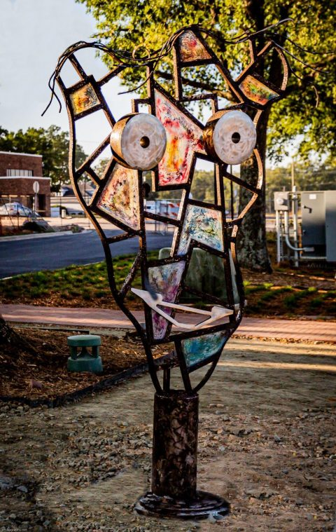 Gifts of public art add flair to Kannapolis downtown streetscape