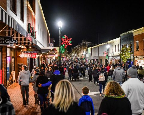 The holidays are here - Concord kicks off Christmas season