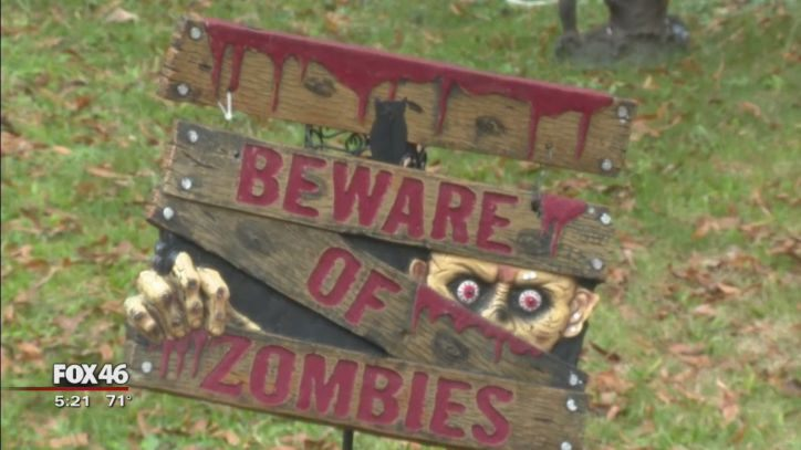Find your spooky spirit at Concord Halloween House