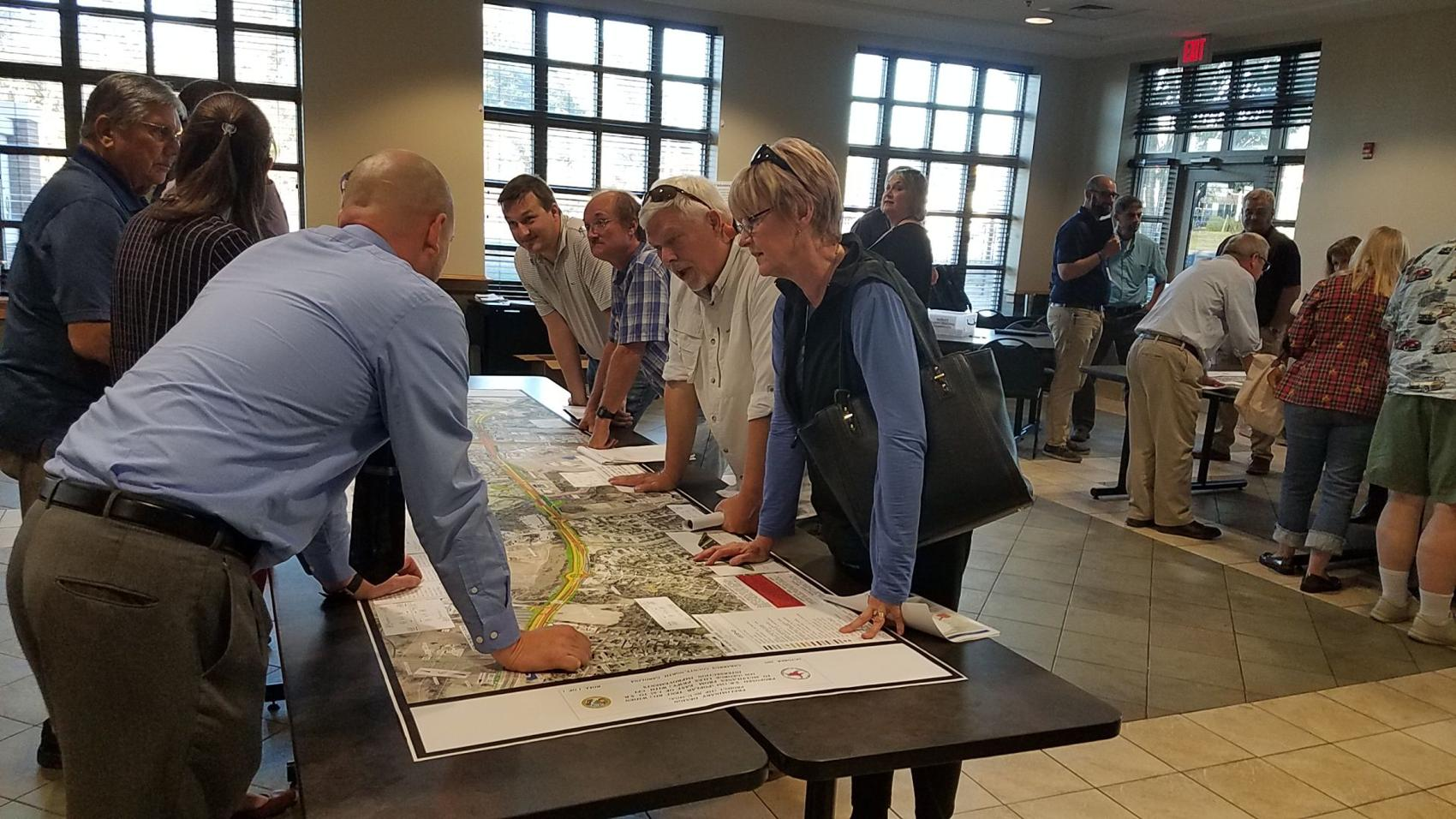 Wide open spaces: Transportation officials hear public feedback on Poplar Tent Road widening project