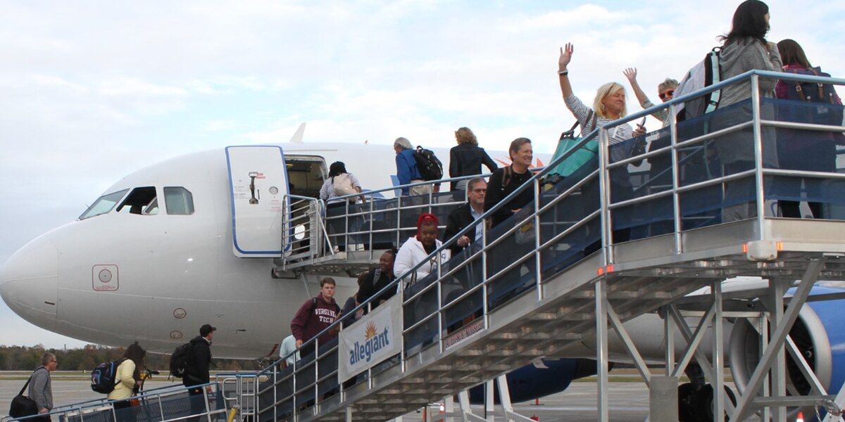 Holiday travel advice from Concord-Padgett Regional Airport