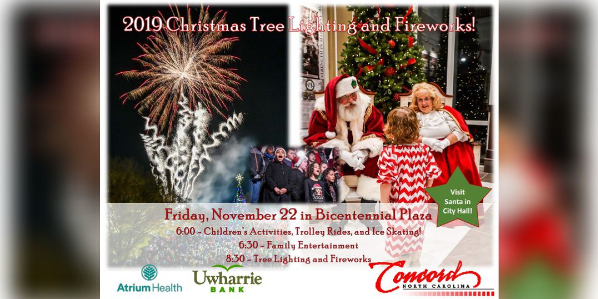 City of Concord kicks off 2019 holiday season with annual tree lighting and parade