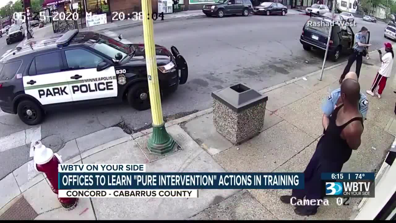 Concord Police to be trained to intervene if a colleague acts unlawfully